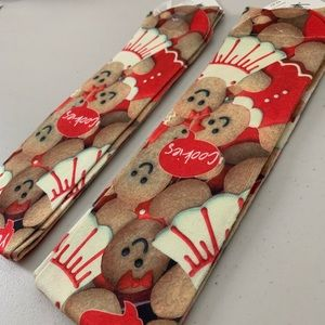 Holiday Time Accessories - RARE CHRISTMAS COOKIE GINGERBREAD KNEE HIGH SOCKS!